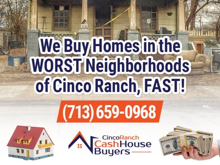 cinco ranch bad neighborhood