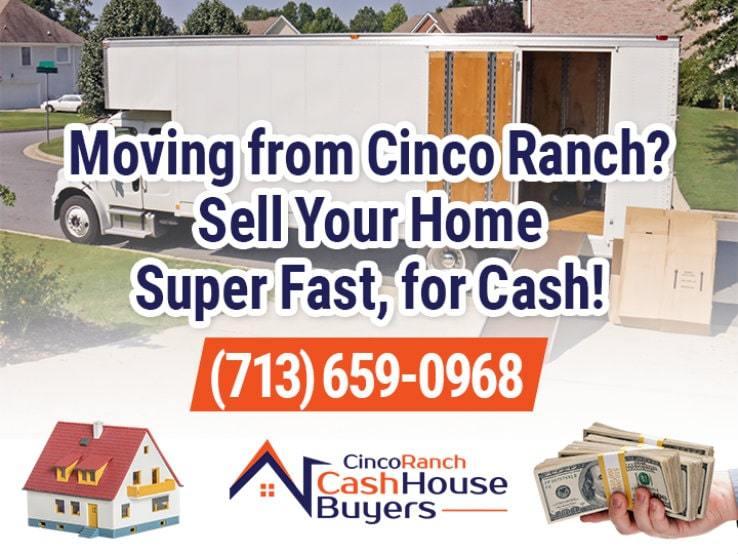 cinco ranch moving