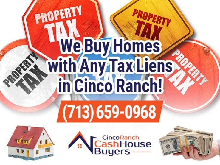 cinco ranch tax liens